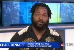 Michael Bennett on immigration and his book, 'Things That Make White People Uncomfortable'