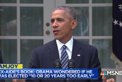 Obama reportedly wondered if he was 'wrong' about Trump