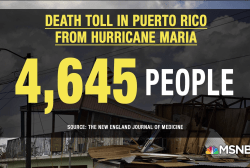 Puerto Rico's Hurricane Maria fatalities severely underestimated: report