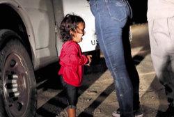 The little girls blocking Trump