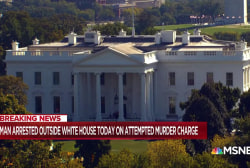 Man with White House access arrested on attempted murder warrant