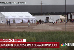 Trump accelerates rate of taking migrant kids from parents