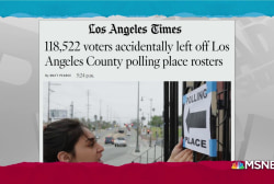'Printing error' leaves almost 200,000 voters off L.A. rosters