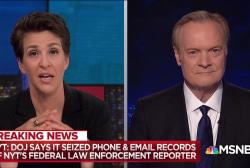 DoJ leak probe takes surprise turn; reporter's records seized