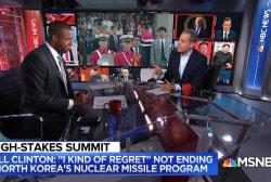 Clinton: 'I kind of regret' not ending North Korea's nuclear missile program