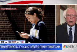 Bernie Sanders weighs in on Ocasio-Cortez's victory