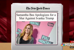 'Not funny and lazy': Breaking down Samantha Bee's remarks