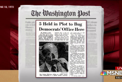 Looking back to Watergate and what it tells us about now