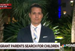 Migrant parents search for children