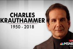 'He was an extraordinary man': Honoring Krauthammer