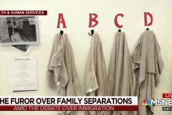 The furor over family separations at the border
