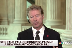 Sen. Paul: It's unknown if a POTUS can pardon themselves