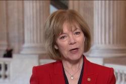 Senator discusses her first address from Senate floor