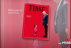 Time reveals 'Welcome to America.' cover