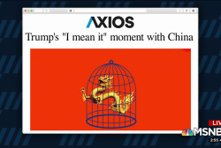 Trump's 'I mean it' moment with China