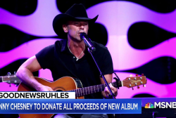#GoodNewsRuhles: Kenny Chesney to donate album proceeds to VI hurricane recovery