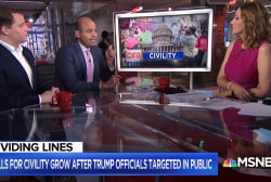 The civility debate: a new wave of anti-Trump anger