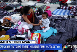 Nurses outraged over long-term impact of Trump's family separation policy