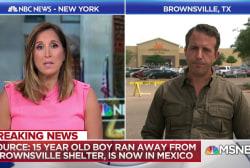 Migrant teen flees Brownsville, TX shelter