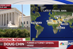 Supreme Court justices' travel ban decision is 'troubling'