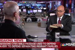 Bible used to justify separating families at border