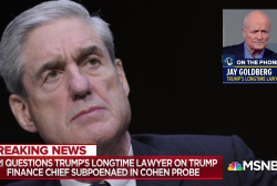 Trump fmr. Lawyer on finance chief subpoena: He knows everything