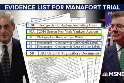 Mueller exposes Paul Manafort's lavish lifestyle