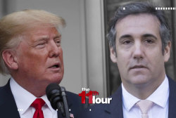 Cohen tape scandal consumes Trump's White House