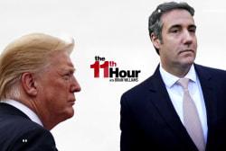 Trump calls Cohen a liar. Cohen's reportedly furious at Trump.