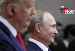 Trump caves to Putin in Helsinki, gets blasted by Dems & GOP