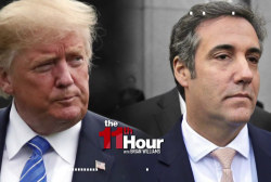 Lordy, we've got the tape. Trump-Cohen recording is released.