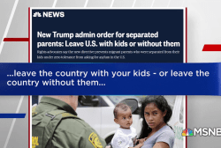 Trump Administration to migrant parents: Leave US with kids, or without