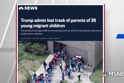 Trump Administration lost track of parents of 38 migrant children