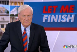 Matthews: Trump is exciting his base with plastic guns