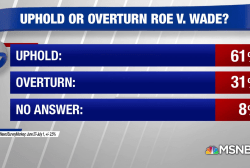 61% want next SCOTUS pick to uphold Roe v. Wade