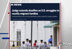 Judge extends deadline as U.S. struggles to reunify migrant families