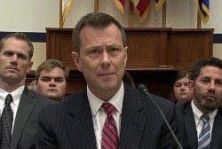 What happened at the Peter Strzok hearing