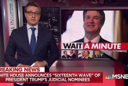 GOP rushing through Trump judicial nominees