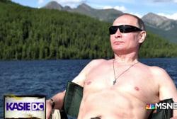 Strongman: Putin acting manly