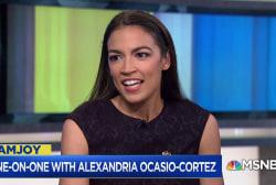 Alexandria Ocasio-Cortez joins Joy Reid on her stunning upset