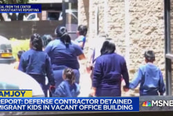 Aura Bogado: Toddlers allegedly held for weeks in office building