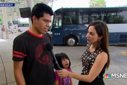 Mariana Atencio: Immigrant mother asks Joy's audience 'don't forget us'