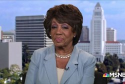Rep. Maxine Waters: Trump will not stop me