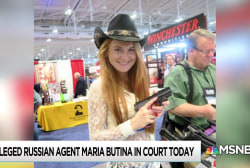 NRA quiet on alleged role as Russian conduit in Butina charges