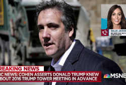 Source: Cohen ready to assert Trump knew ahead of Russia meeting
