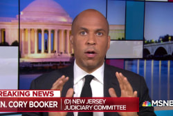 Booker: 'We cannot let this confirmation process go forward'