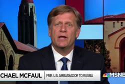 McFaul 'flabbergasted' that White House would not defend him
