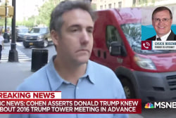 Cohen's claim Trump OK'd Trump Tower meeting potent despite leak