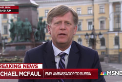 McFaul: Trump with Putin shows U.S. 'national security crisis'