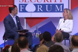 DHS chief Kirstjen Nielsen comments on border crisis at Aspen Security Forum